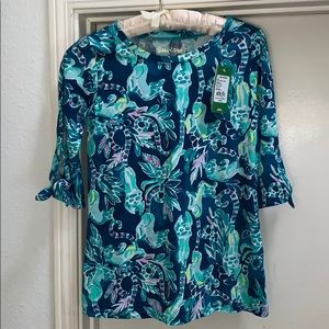 NWT Lilly Pulitzer In The Details Preston Top XXS